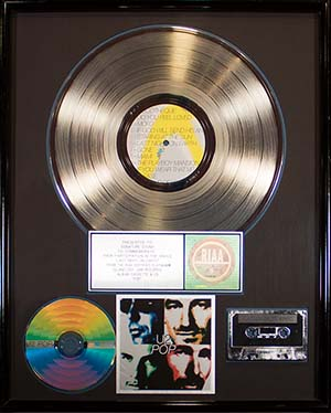 Platinum Record - U2 - Online Mixing and Mastering Carousel